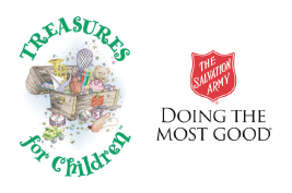 Treasures For Children and The Salvation Army
