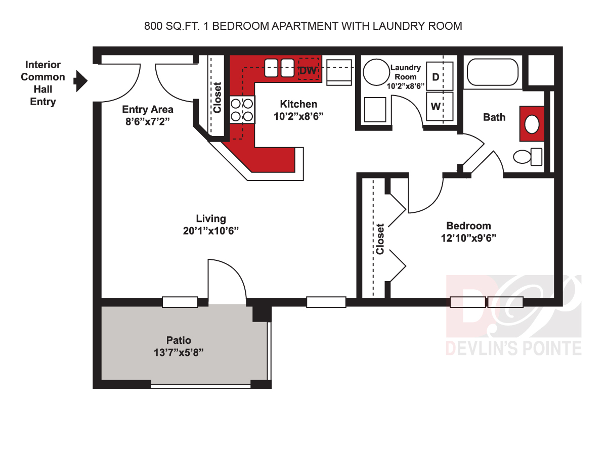 Floor Plans Devlin S Pointe Apartments And Townhomes